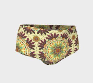 Gaia Mandala Mini Shorts preview