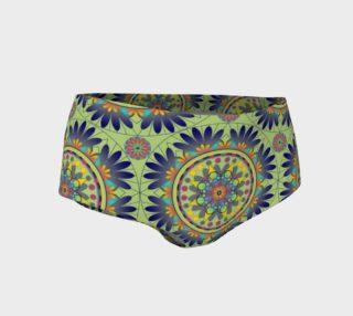 Kalysta Mandala Mini Shorts preview