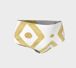 Golden Ritual Mini Shorts preview