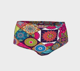 Ethnic Floral Paisley Mini Shorts preview