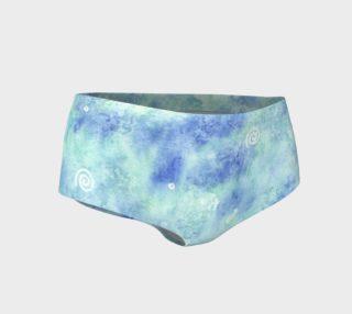 Blue lagoon Mini Shorts preview