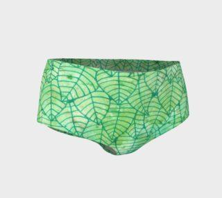 Green foliage Mini Shorts preview