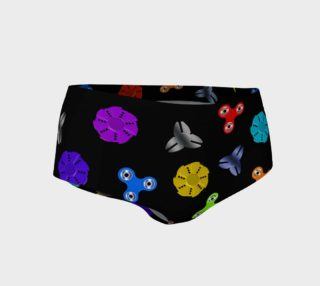 SPINNER - Mini Shorts - Black preview