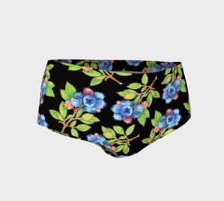 Aperçu de Blueberry Sprig Mini Shorts