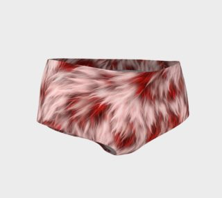 Cherry Chip Fuzz Mini Shorts preview