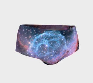 Cosmic Nebula Mini Shorts preview
