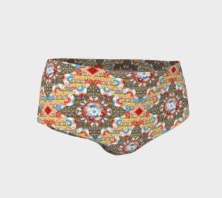 Heraldic Lovebird Mini Shorts preview