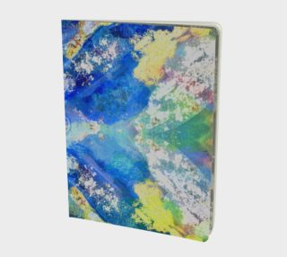 Kaleidoscope Blue Multi Color Notebook preview
