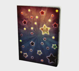 Grunge stars design preview