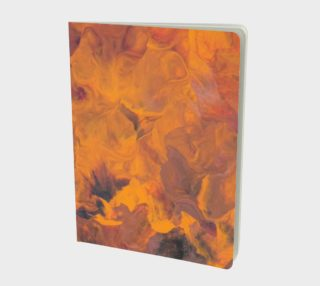 Sunset Flowers Notebook preview