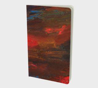 Aperçu de Crimson Ocean Small Notebook