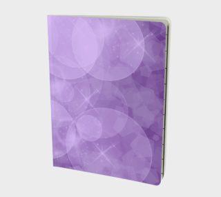 Purple Bubbles Notebook aperçu