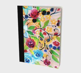Bohemian Morning Garden Notebook preview