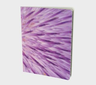 Purple Bud Explosion Notebook preview