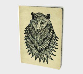 Wolf sketched aperçu