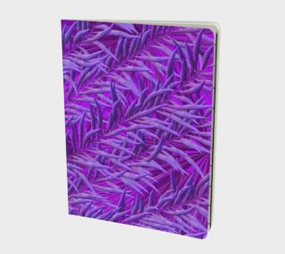 Purple Feathers Notebook preview