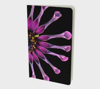 Aperçu de Crazy Purple Flower Small Notebook 160812
