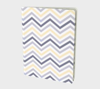 Yellow chevron - notebook preview
