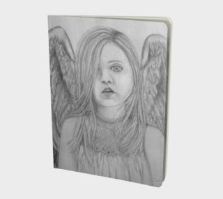 Angel Eyes - Large Notebook Journal preview