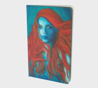Blue Mermaid - Small Notebook Journal preview