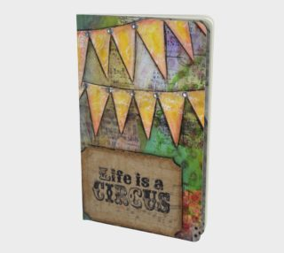 Circus Sparkle - Small Notebook Journal preview