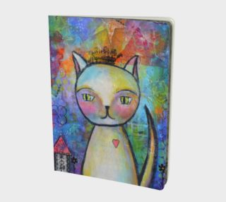 Kitty Queen - Large Notebook Journal preview