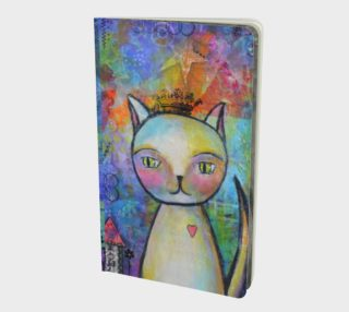 Kitty Queen - Small Notebook Journal preview