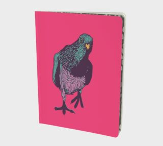 Notebook - Curious Pigeon in Bright preview