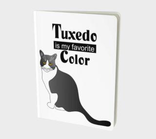 Aperçu de Tuxedo Cat Large Notebook 160426