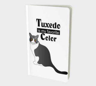 Aperçu de Tuxedo Cat Small Notebook 160426