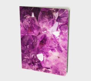 True Purple Amethyst Notebook preview