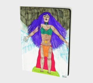 "A Notebook for ""Lady Chakraun- Master of the Seven Chakras"" preview"
