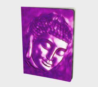 Aperçu de Pink Purple Buddha Art Portrait