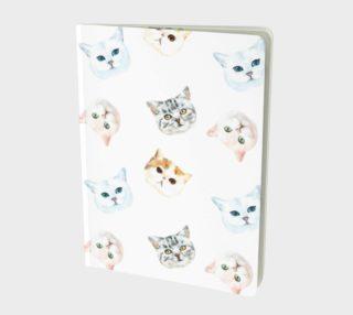 Cat Notebook/Journal aperçu