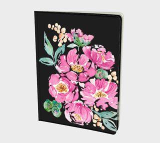Aperçu de Pink Peony Notebook