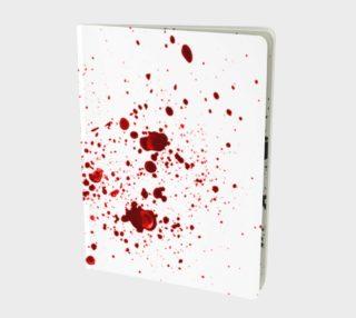 Blood Splatter First Cosplay Halloween Notebook preview