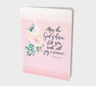 Aperçu de God of Hope Notebook