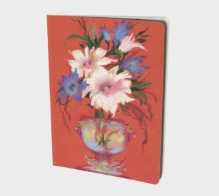 Aperçu de Flowers. Watercolor and Pastel Bouquet