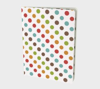 Modern Dots Notebook preview