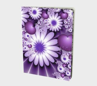 Falling in Love Abstract Flowers & Hearts Fractal preview