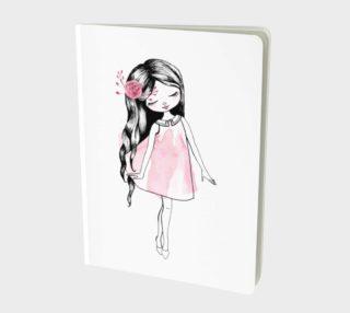 Aperçu de cute girl in pink dress
