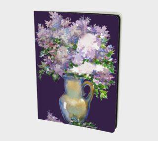 Aperçu de Watercolor Lilac. Bouquet. Flowers