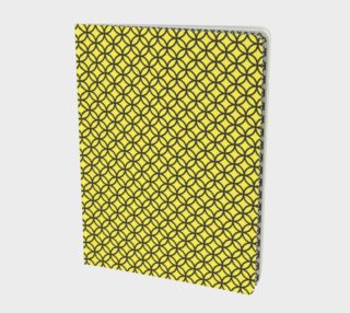 Spectacular Yellow Circle Geometric Pattern - Notebook preview