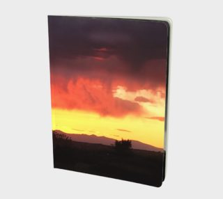 Santa Fe Sunset - Notebook preview