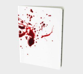 Blood Splatter three notebook preview