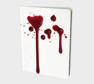 Blood Splatter four notebook preview