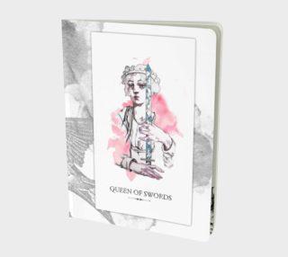 Queen of Swords Notebook preview