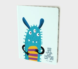 Blue Monster Large Notebook preview
