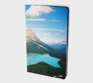 Aperçu de Bear Lake/Peyto Lake Alberta Canada
