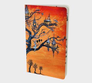 Aperçu de Carnival Tree Notebook